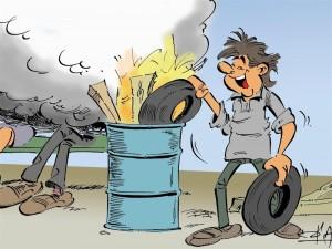 Stookhout moet veilig zijn. Het haardhout mag niet uit restafval bestaan, want dat is gevaarlijk